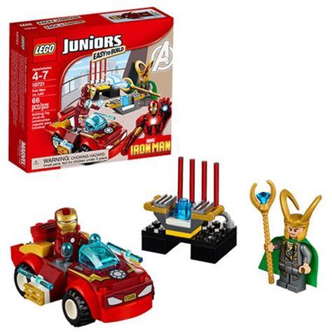 Lego Juniors 10721 Iron Vs Loki Junior Vs Ironman Easy To Build lego juniors marvel 10721 iron vs loki