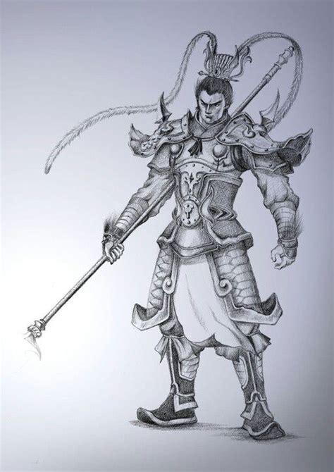 ancient chinese tattoo designs warrior design warriors