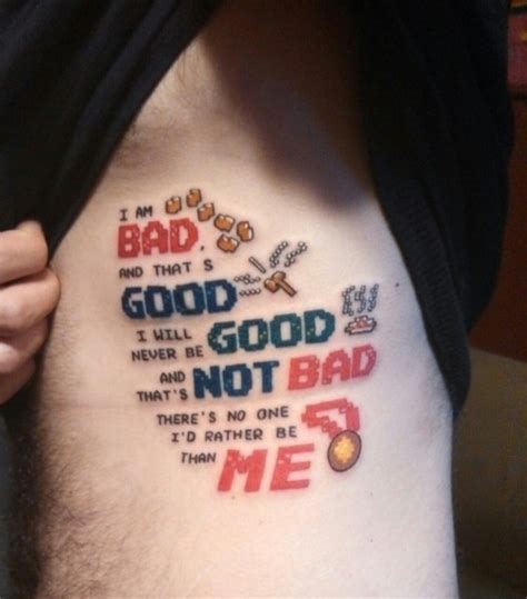 disney tattoos wreck it ralph side