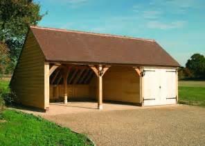 ch3g traditional oak frame garage building cart lodge self