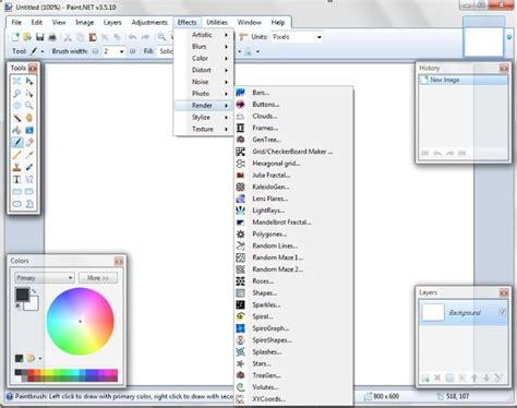 paint net plugins