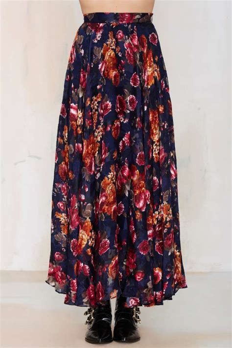 Maxi Hazel By My Trend Fashion fremont plaid shirt floral maxi floral maxi skirts and