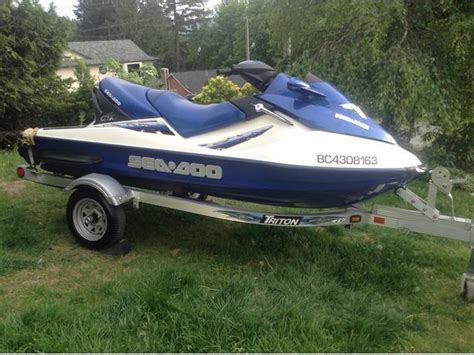Seadoo Gtx Di 1000 For Sale Or Trade Outside Comox Valley