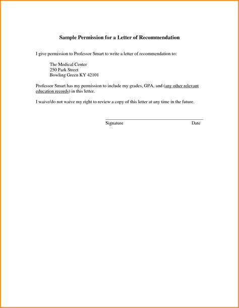 authorization letter use of address letter giving permission authorization letter pdf
