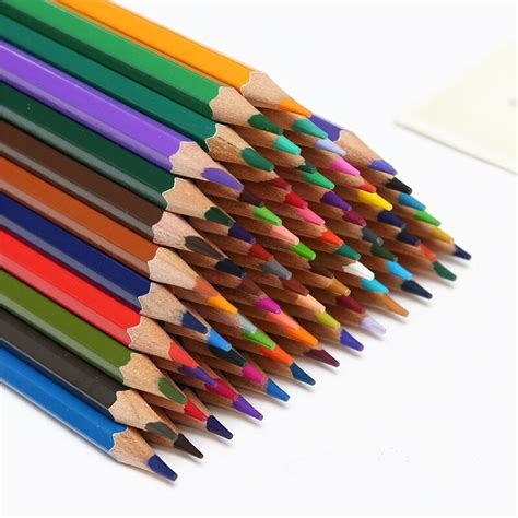 water soluble colored pencils olike 48pcs pencil safe non toxic lead water soluble