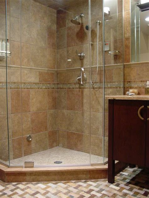Standing Shower Bathroom Design Stand Up Shower Design Home Maker Pinterest