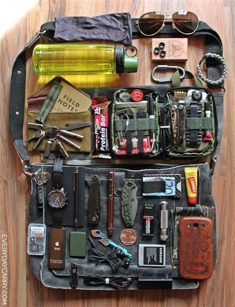 edc backpack list every day carry bag tactical gear bobs survival kits and bags