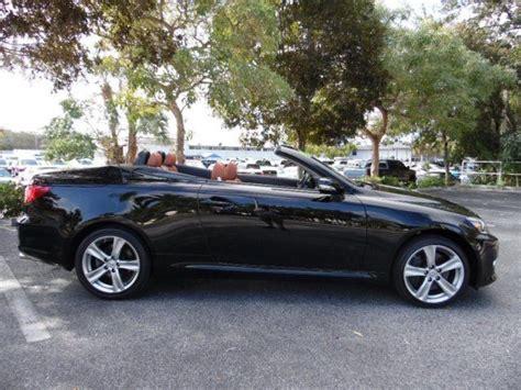 lexus is350c 2012 lexus is350c is350 convertible black with brown