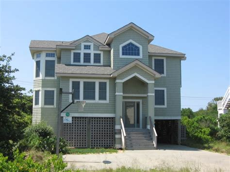 outer bank house rentals outer banks vacation rental five bedroom house side