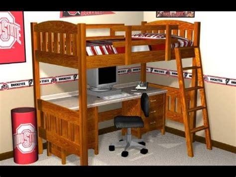 loft bed plans   build  loft bed  plans