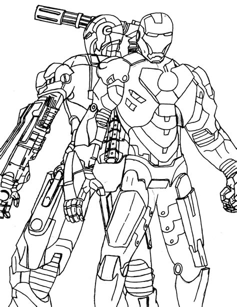 war machine coloring pages download and print for free