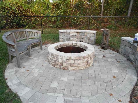 Outdoor Patio With Fire Pit Ideas Pictures Landscaping Patio With Pit Designs