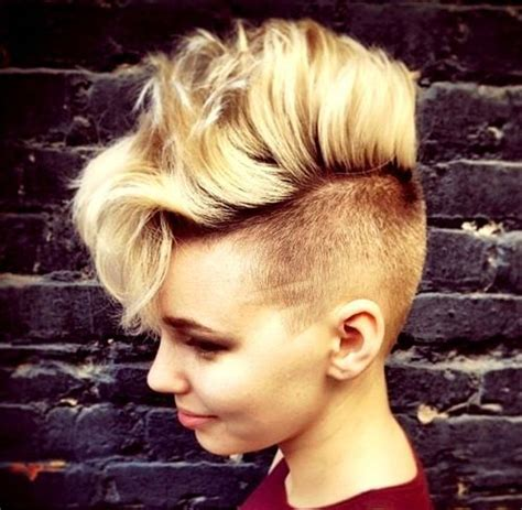 can women with a mahawk hair xut put weave in hair 25 exquisite curly mohawk hairstyles for girls women