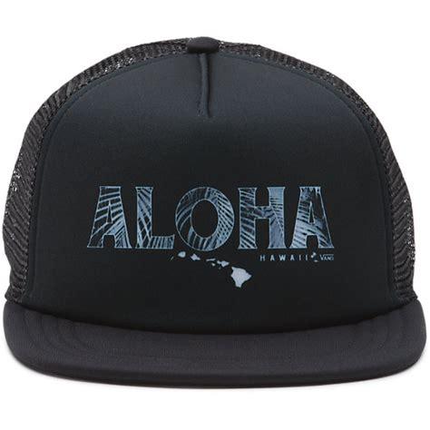 Vans Trucker Hat vans aloha trucker hat shop at vans