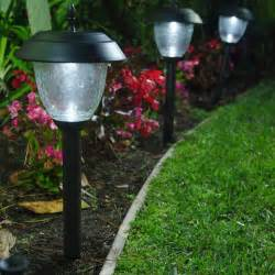 garden path solar lights lights outdoor landscape willowbrook gunmetal