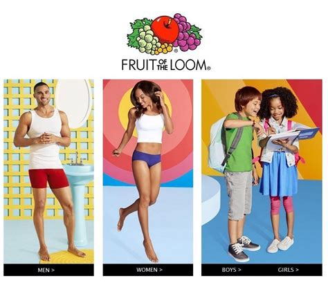 fruit of the loom fruit of the loom at