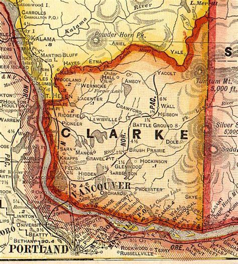 Clark County Washington Records Clark County Washington Maps And Gazetteers