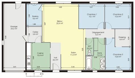 Plan De Maison Gratuit plan maison moderne gratuit pdf