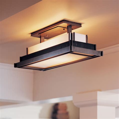 Flush Mount Kitchen Lighting Ideas Rectangular Kitchen Light Fixtures Lighting Designs