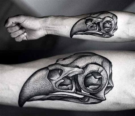 animal skull tattoo 60 animal skull designs for ink ideas