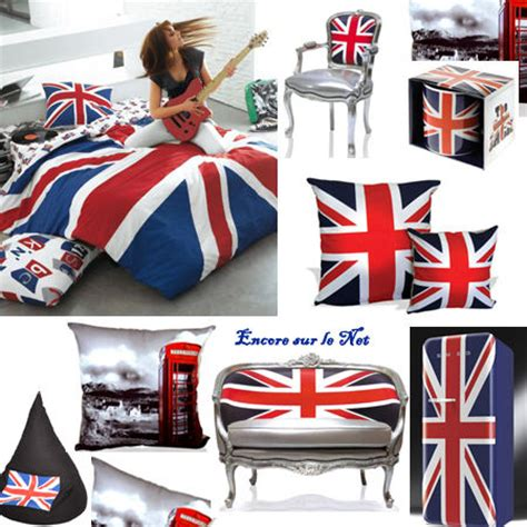 d 233 coration chambre drapeau anglais