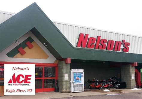 ace hardware one belpark nelson s ace hardware eagle river area chamber of commerce