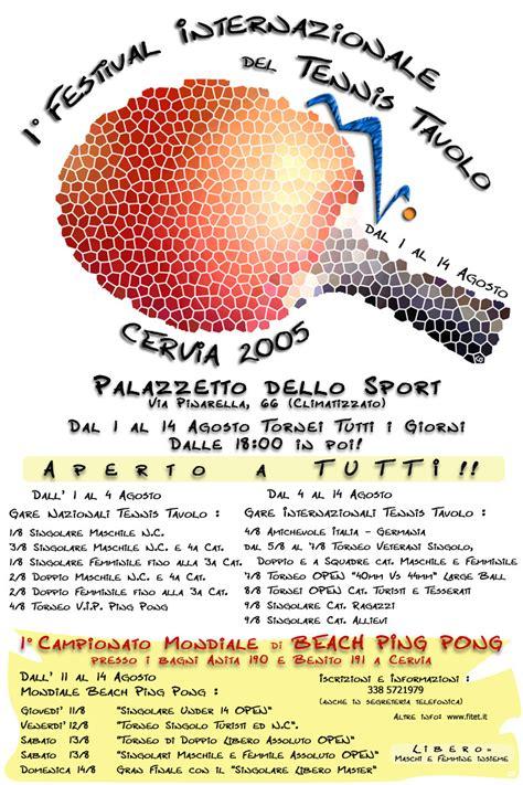 regole tennis tavolo il portale tennis tavolo festival internazionale