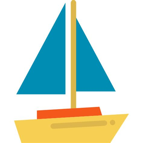 sailboat icon free sailboat free transport icons