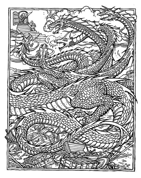 Detailed Dragon Coloring Pages Coloring Home Detailed Coloring Pages