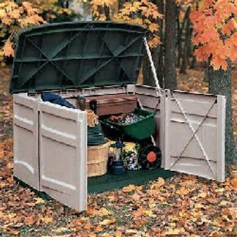 patio storage container outdoor plastic storage containers doors