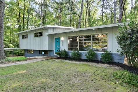 contemporary houses for sale atlanta mid century modern for under 300k domorealty