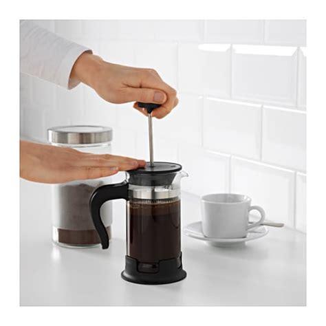 Upphetta 01 Coffeetea Maker Glass Stainless Steel upphetta coffee tea maker ikea