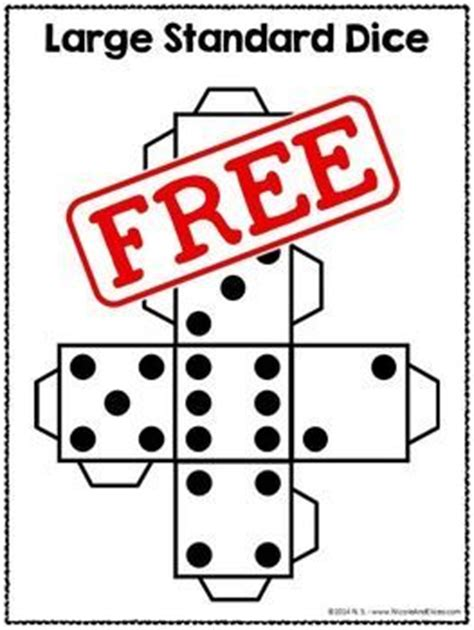printable math dice 416 best images about dice on pinterest comprehension