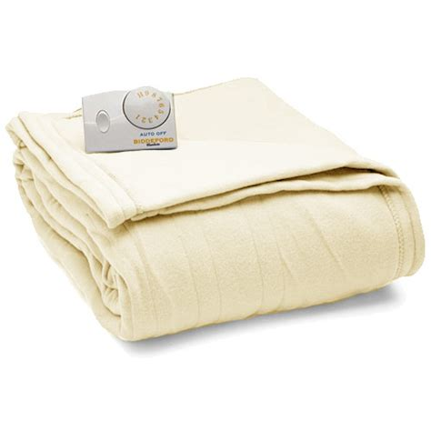 comfort knit heated blanket biddeford comfort knit fleece electric heated blankets