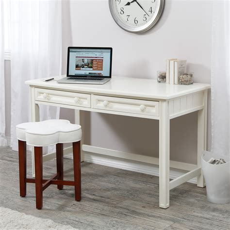 Belham Living Casey Writing Desk White Desks At Hayneedle White Writing Desk With Drawers