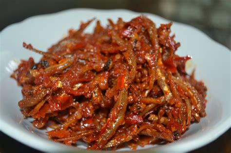 Sambal Tolly easy recipe to make sambal goreng teri food recipe