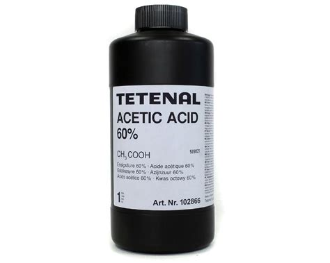 Acetic Acid Shelf by Tetenal Acetic Acid 1l
