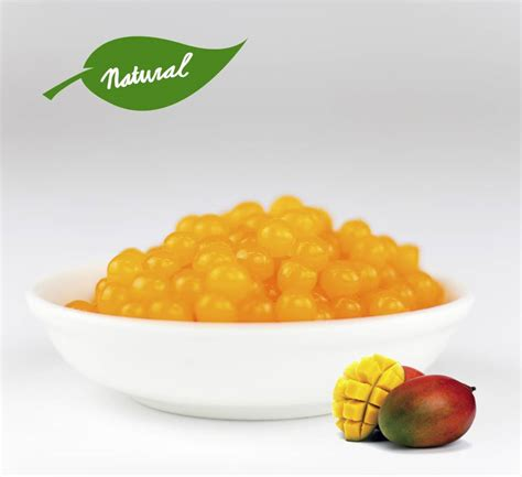Manggo Pearl Mango Fruit Pearls For Tea Inspire Food Company