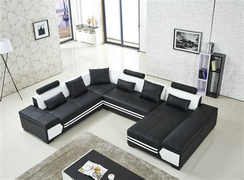 u shaped couch living room furniture large u shaped sofa black leather couch living room sofa