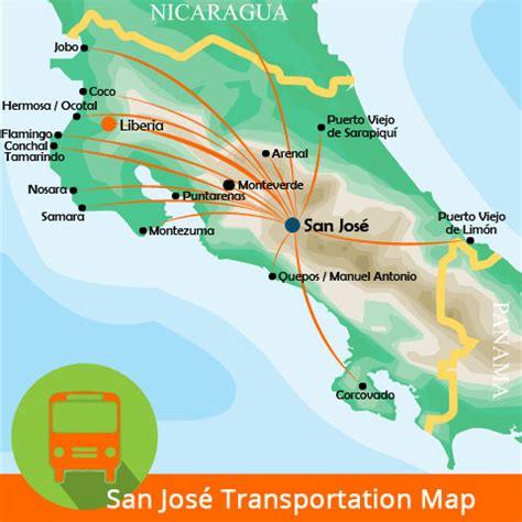 san jose airport food map dreams la mareas costa rica map quotes