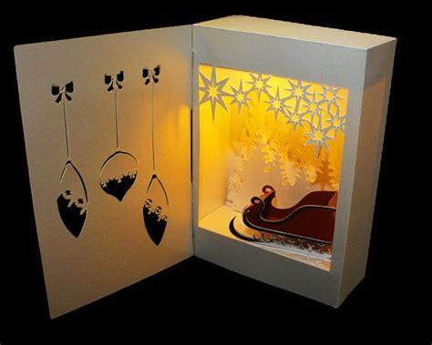 google design box shadow 3d svg shadow box lantern santa surprise design places
