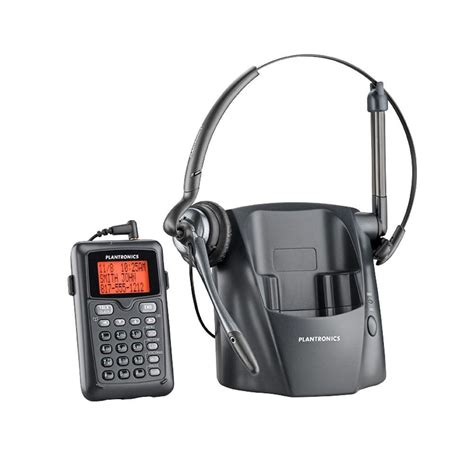 Headset For Phone plantronics cordless phone with headset pl ct14 the home