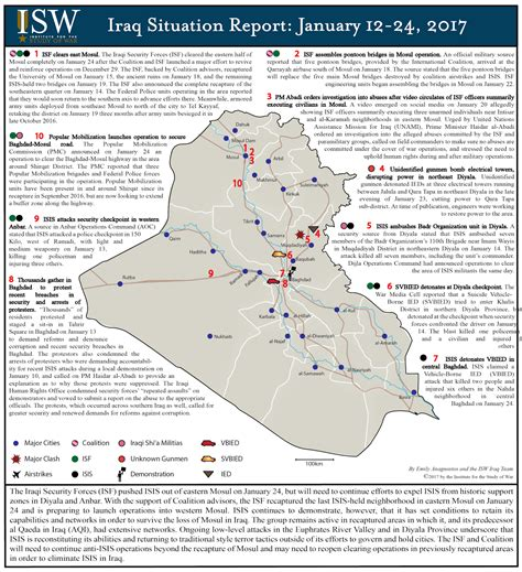 ISW Blog: Iraq Situation Report: January 12-24, 2017 Iraq 2017