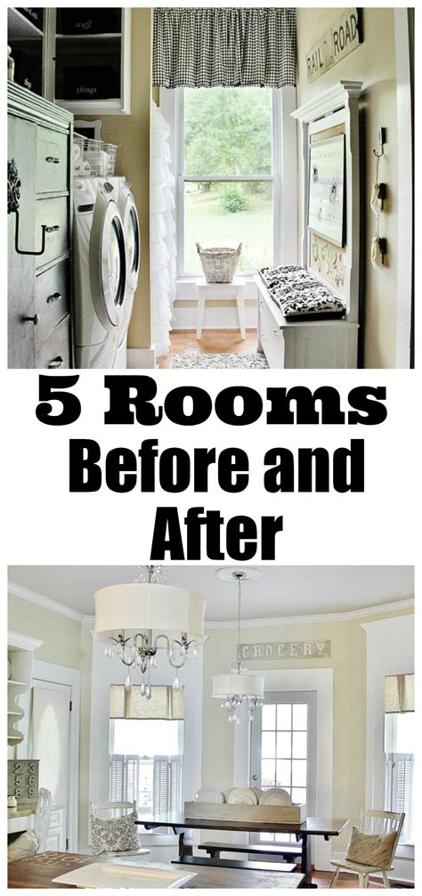 room before and after five before and after room makeovers thistlewood farm
