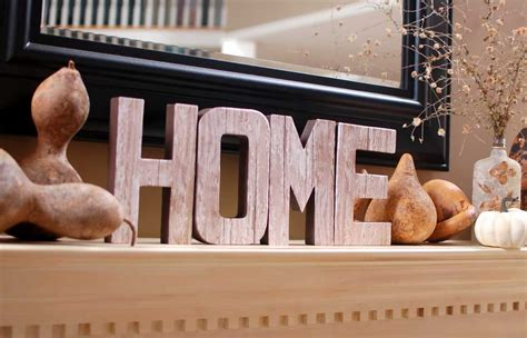 Home Letters Decoration Large Wooden Letters Decosee