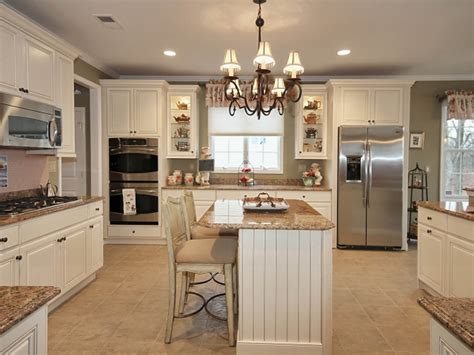 Antique White Cabinets With White Appliances by Antique White Kitchen Cabinets With Stainless Steel