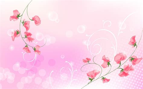 Wallpaper Stiker Motif Colour Pink Flower 1 light pink page 1