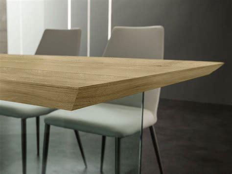 tavoli in legno e vetro tavolo in vetro e legno sospiro