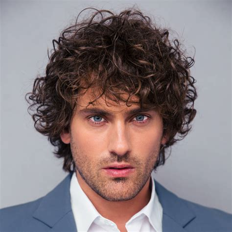 mens hair styles by hairline type 40 modern men s hairstyles for curly hair that will
