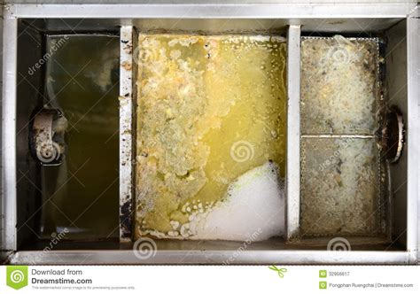 How To Clean Smelly Sink Drain by Grease Traps Box Stock Image Image Of Industrial Dirty